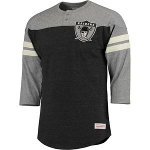 Mitchell & Ness Henley Throwback Start of Season